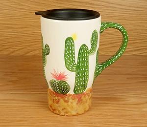Walnut Creek Cactus Travel Mug