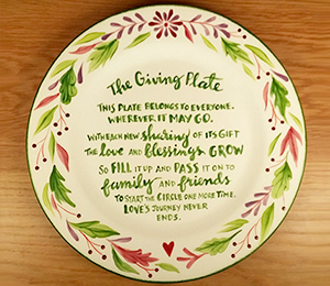 Walnut Creek The Giving Plate