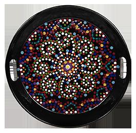 Walnut Creek Mosaic Mandala Tray