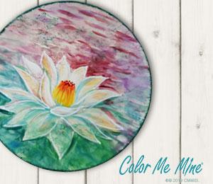 Walnut Creek Lotus Flower Plate