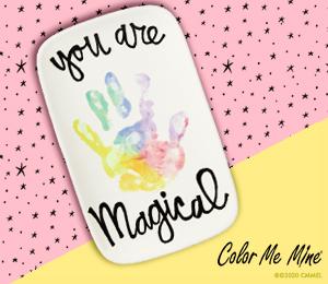 Walnut Creek Rainbow Hand-print
