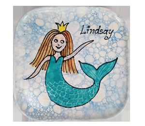 Walnut Creek Mermaid Plate