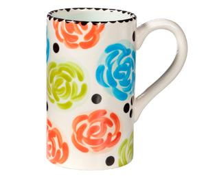 Walnut Creek Simple Floral Mug