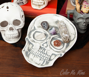Walnut Creek Vintage Skull Plate