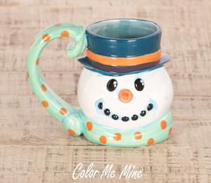 Walnut Creek Snowman Mug