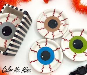 Walnut Creek Eyeball Coasters